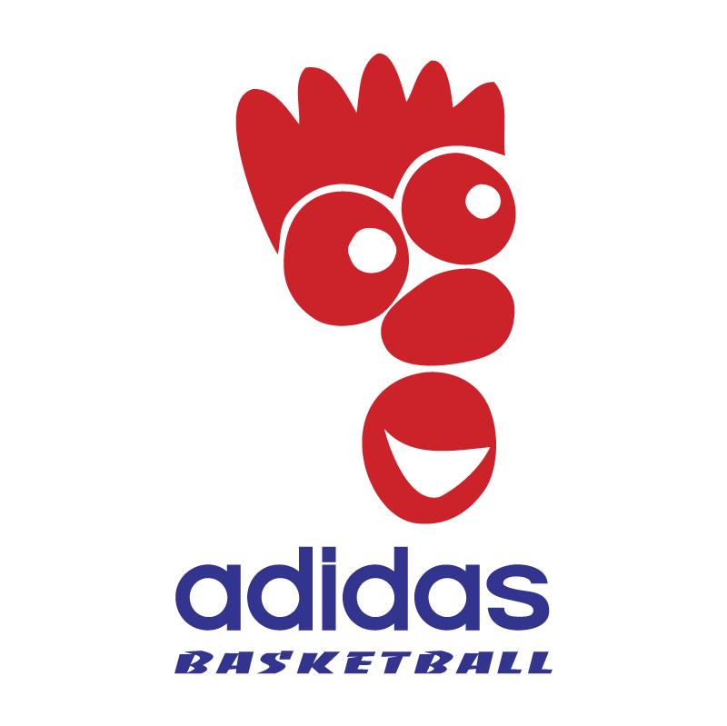Adidas Basketball vector