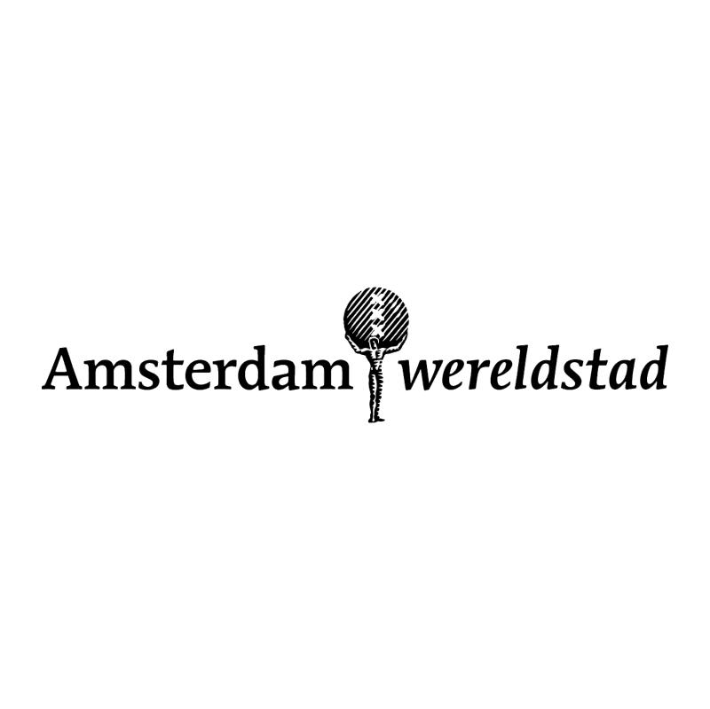 Amsterdam Wereldstad vector