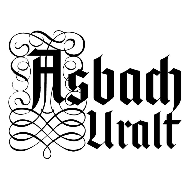 Asbach Uralt vector