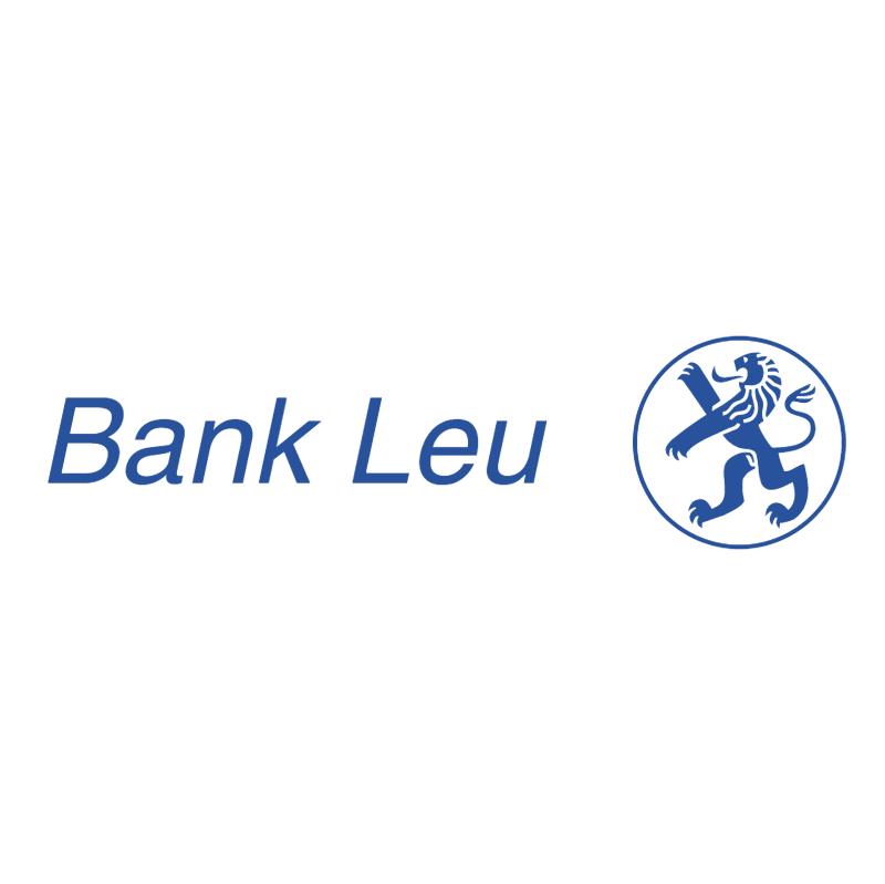 Bank Leu vector logo