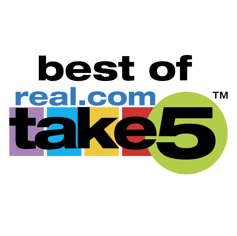 Best of Real com Take5 vector logo