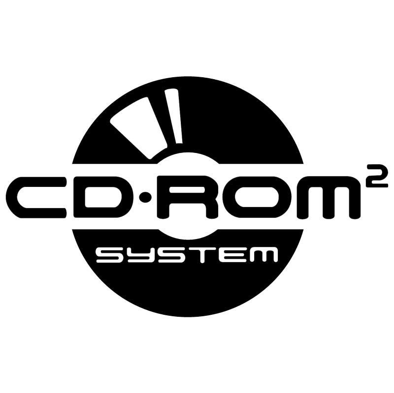 CD ROM System vector logo
