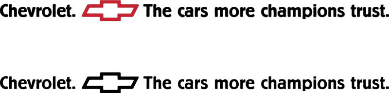 Chevrolet tagline vector