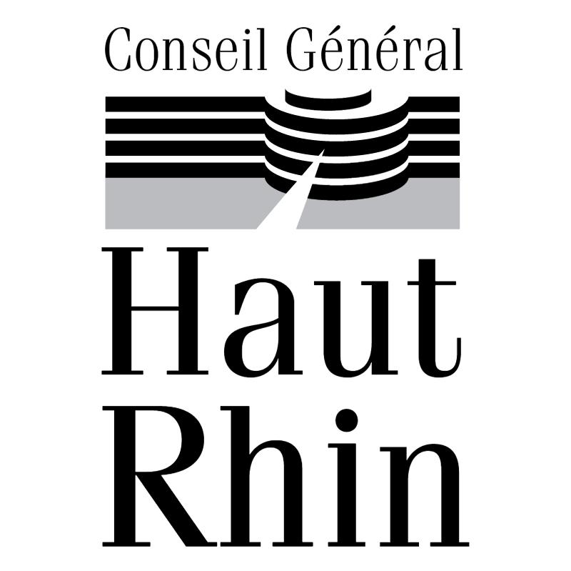 Conseil General du Haut Rhin vector