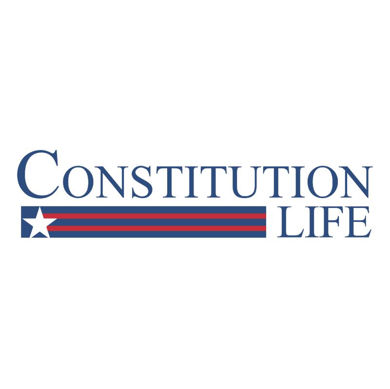 Constitution Life vector