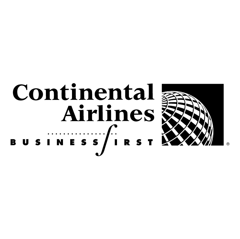 Continental Airlines BusinessFirst vector