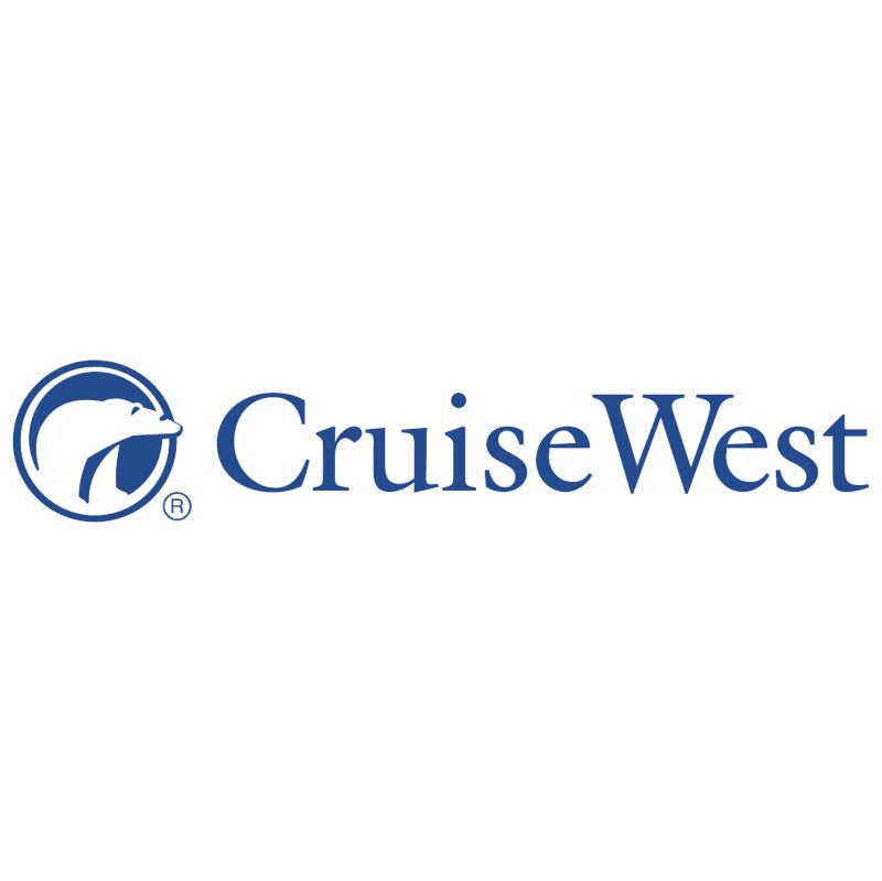 Cruise West vector logo