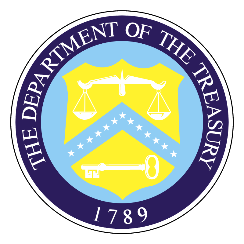 Department of the Treasury vector