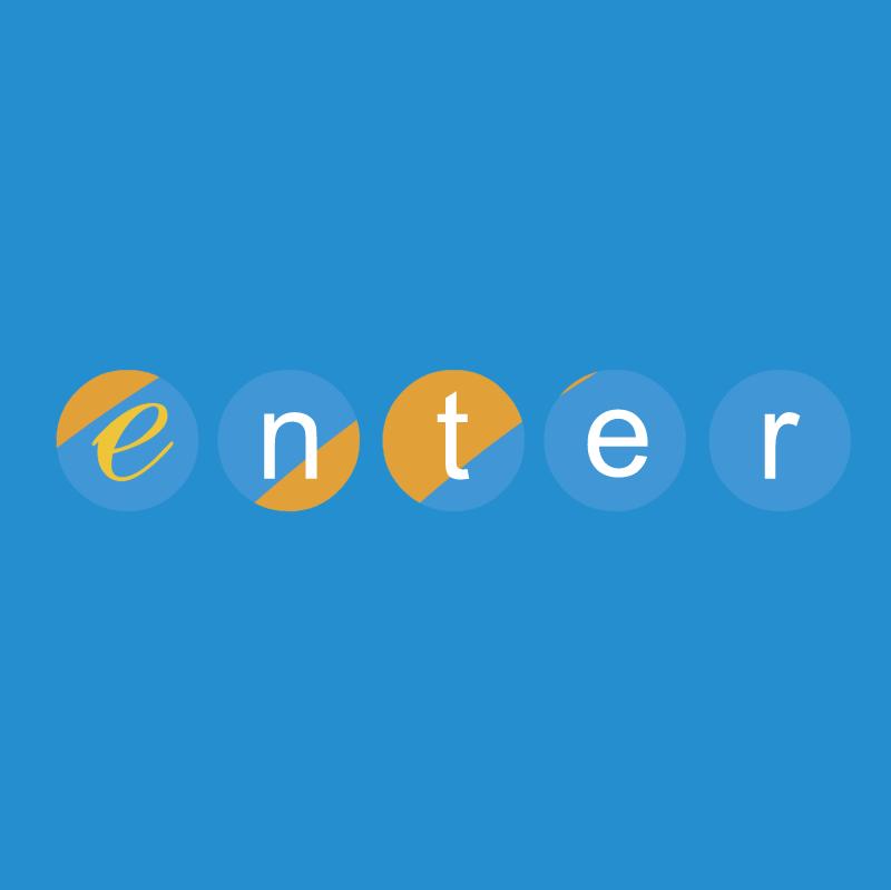 Enter vector logo