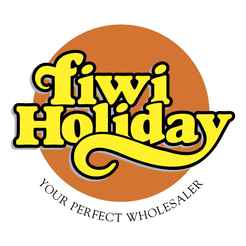 Fiwi Holiday vector logo