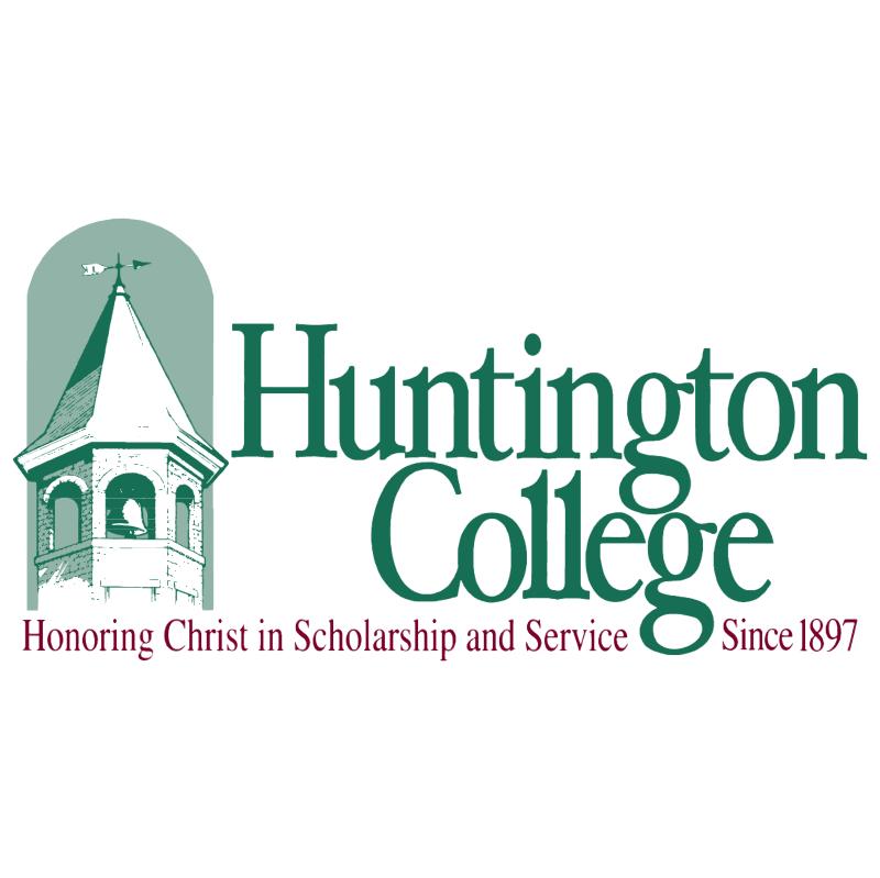 Huntington College vector logo