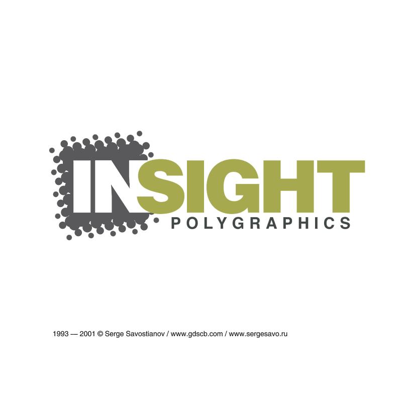 InSight Polygraphics vector logo