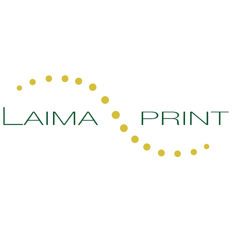 Laima Print vector logo