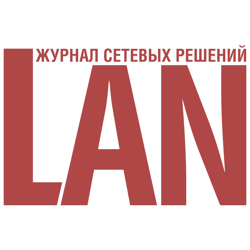 LAN Magazine vector