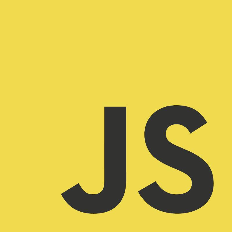 Logo Javascript vector