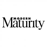 Modern Maturity vector