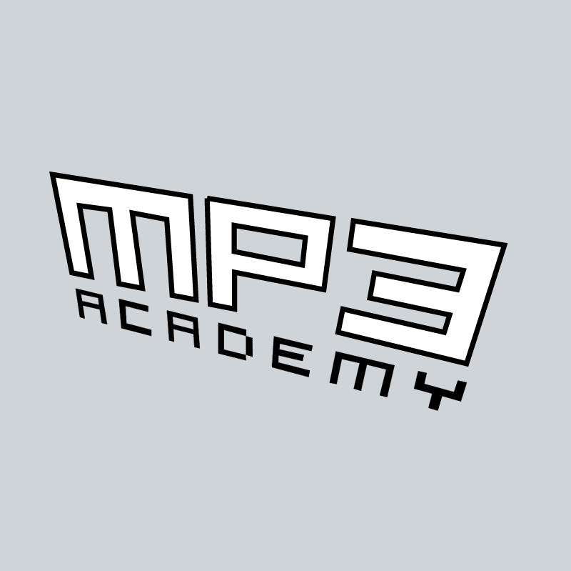 MP3 Academy vector