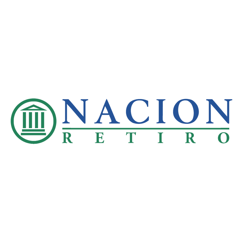 Nacion Retiro vector