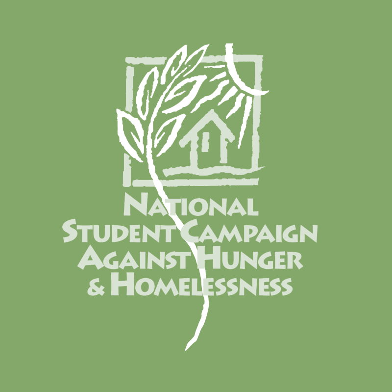 National Student Campaign Against Hunger & Homelessness vector