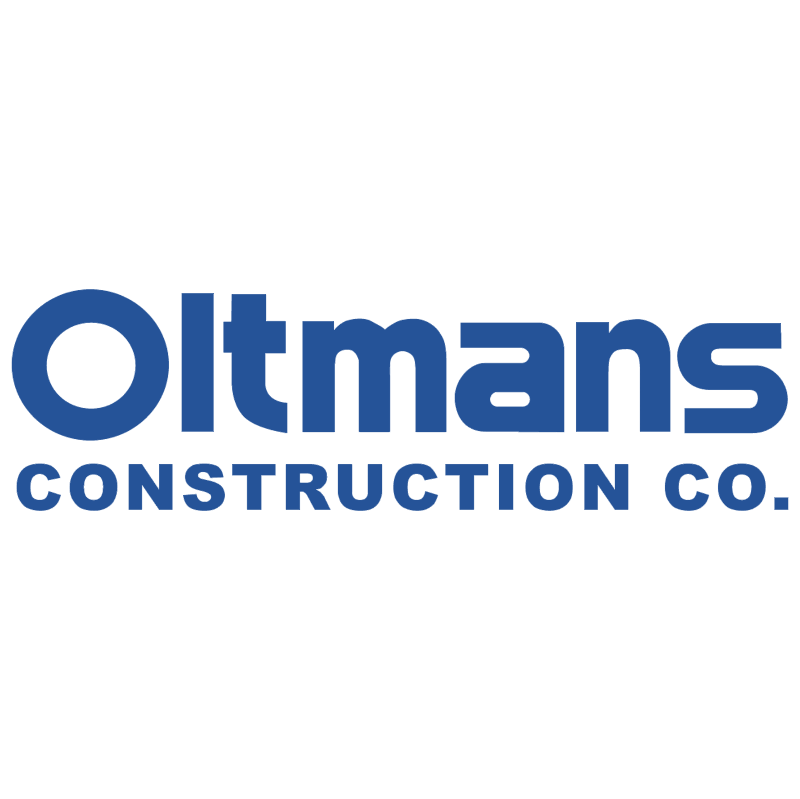 Oltmans Construction vector logo