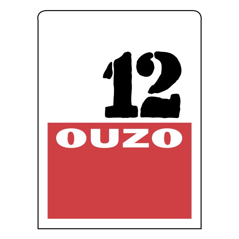 Ouzo 12 vector