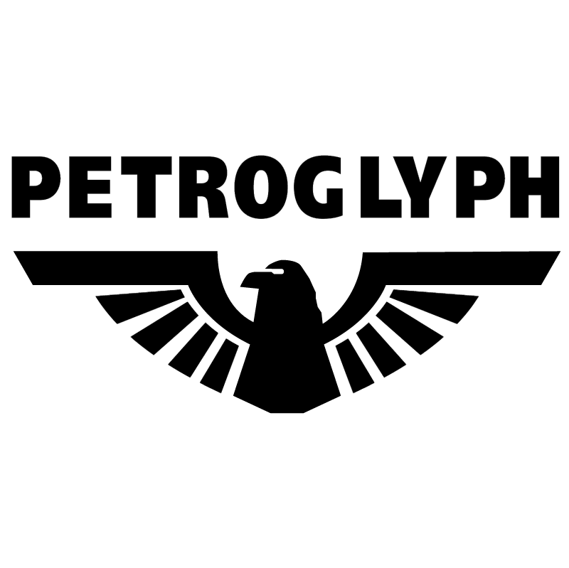 Petroglyph vector logo