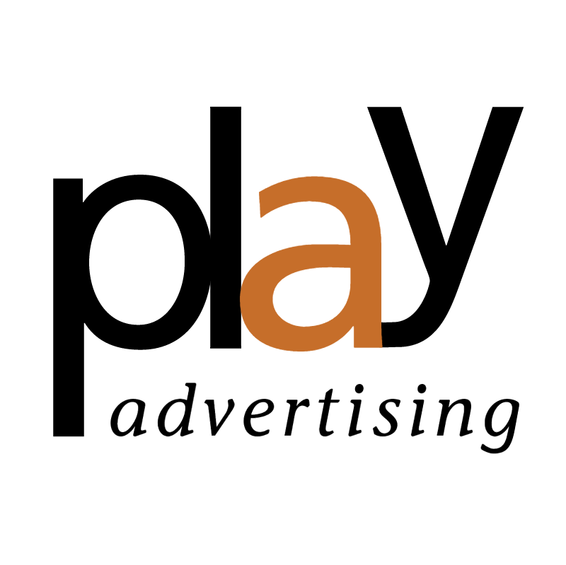 Play Advertising vector