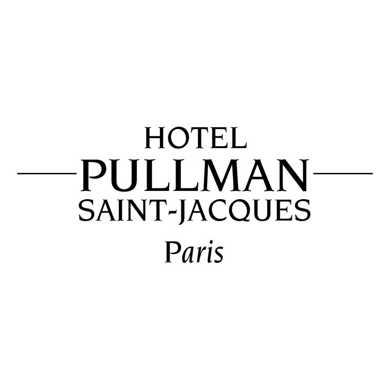 Pullman Saint Jacque Paris vector