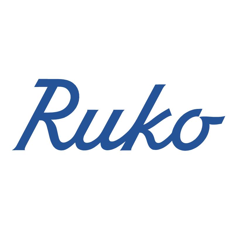 Ruko vector logo