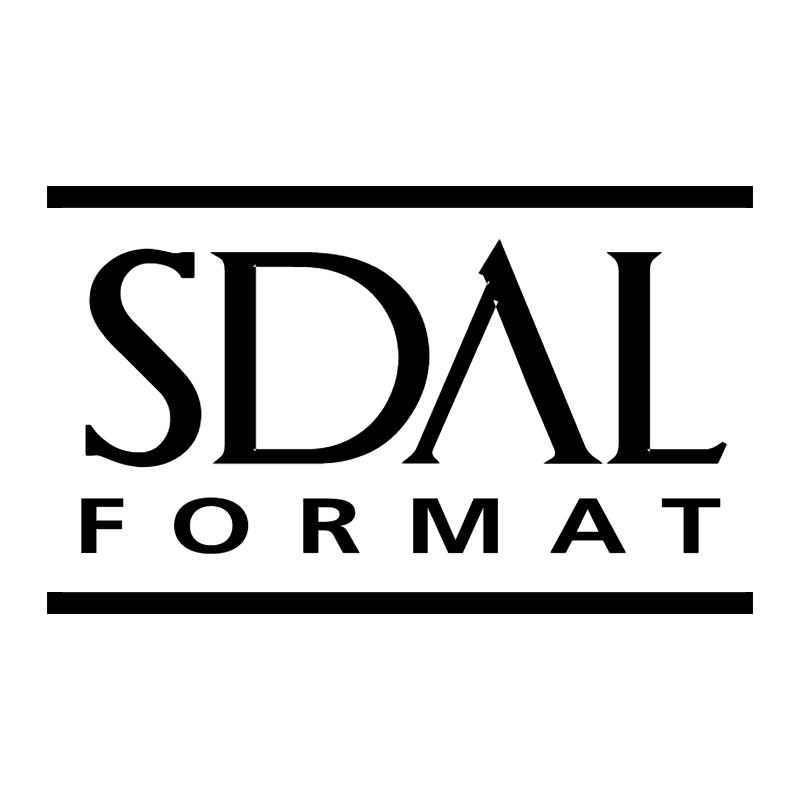 SDAL Format vector logo