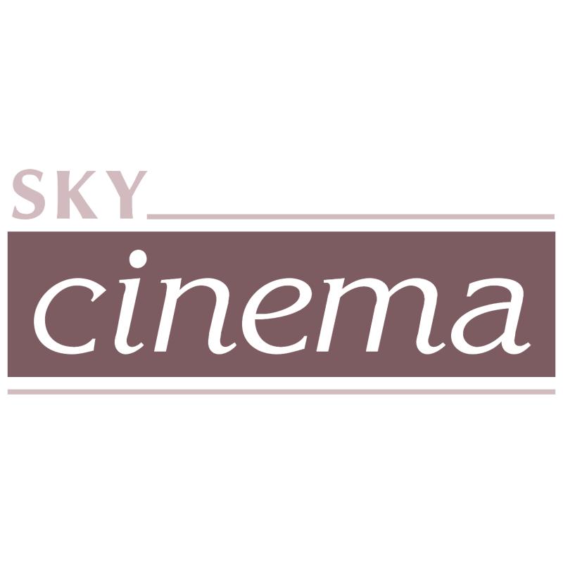 Sky cinema vector