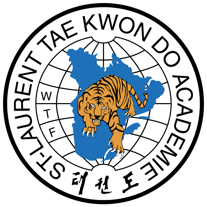 St Laurent Tae Kwon Do Academie vector