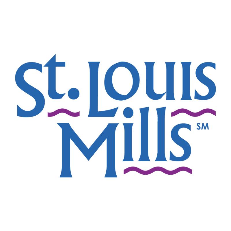 St Louis Mills vector