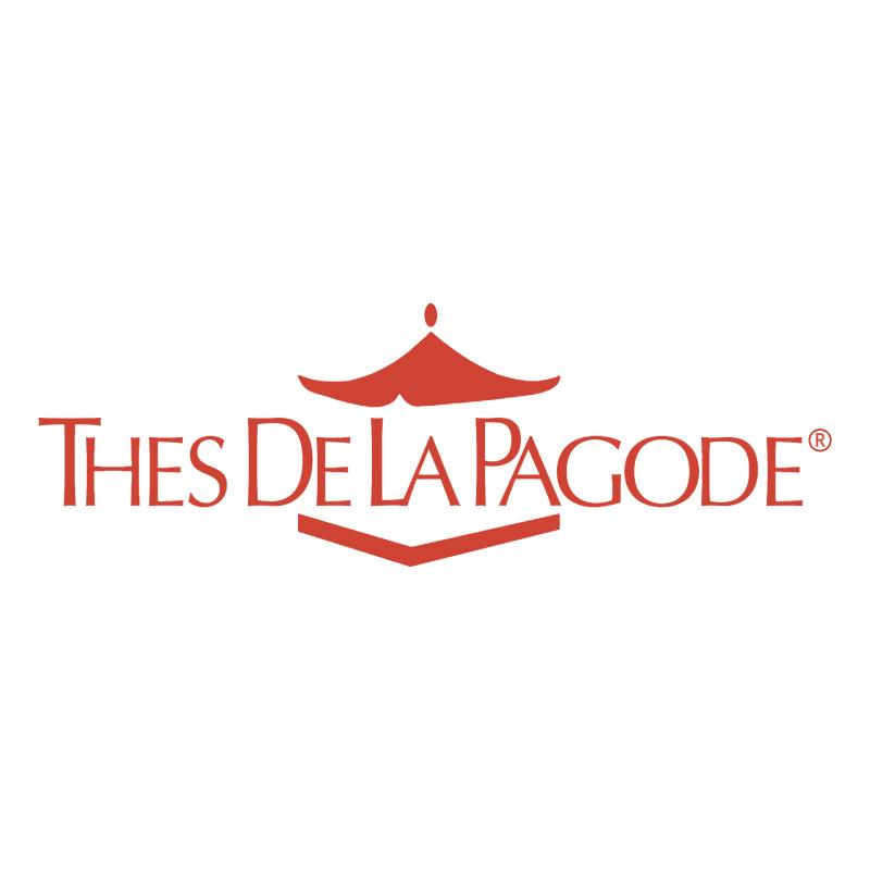 Thes De La Pagode vector