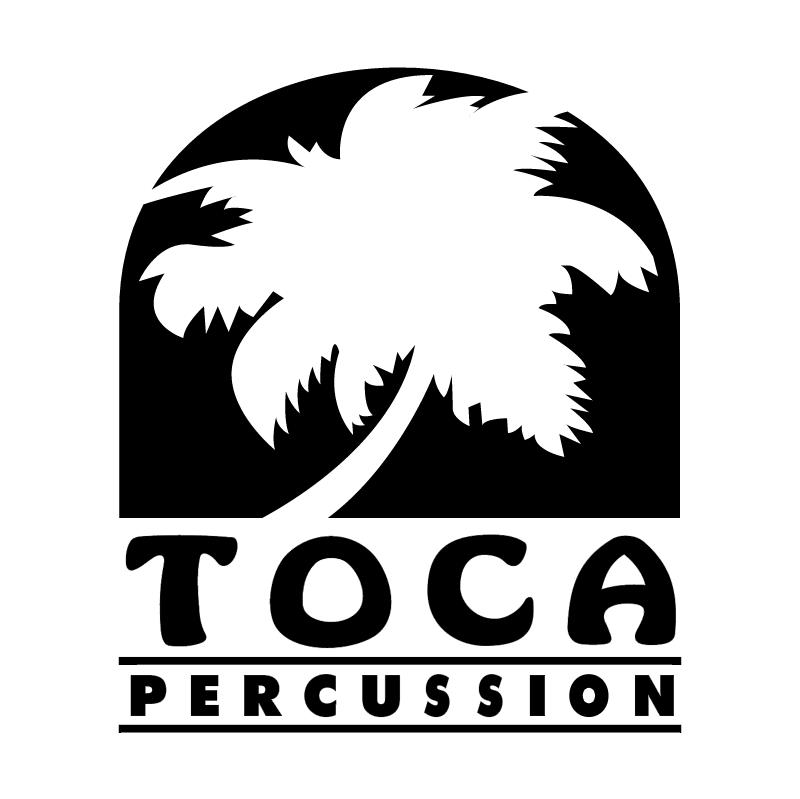 Toca Percussion vector logo