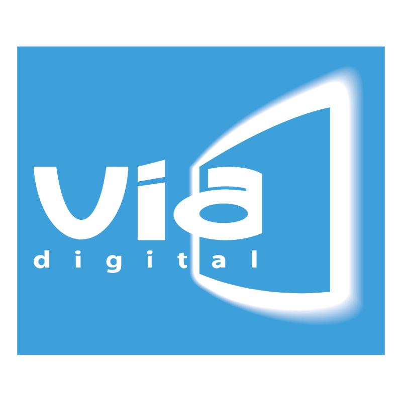 Via Digital vector logo
