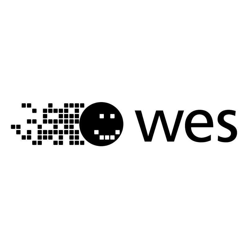 WES vector logo