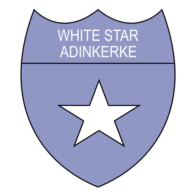 White Star Adinkerke vector