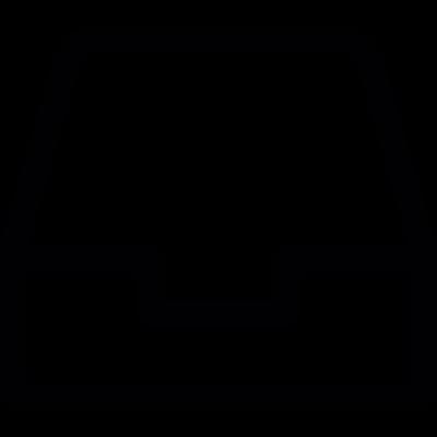 Downloading Drawer vector logo