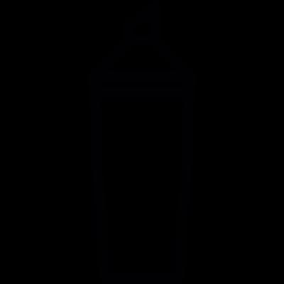 Sauce container vector logo