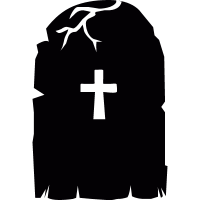 Creepy Tombstone vector