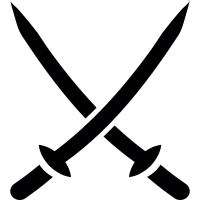 2 katanas vector