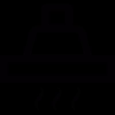 Cooker hood vector logo