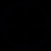 Circular shooting target vector