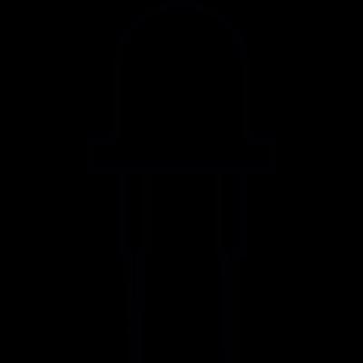 LED, IOS 7 interface symbol vector logo