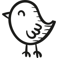 Draw Chick vector