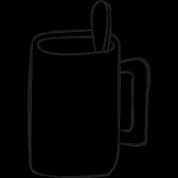 Breakfast Cup vector
