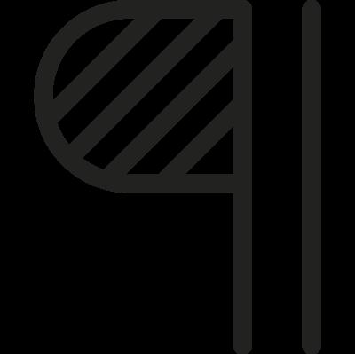 Paragraph Symbol vector logo