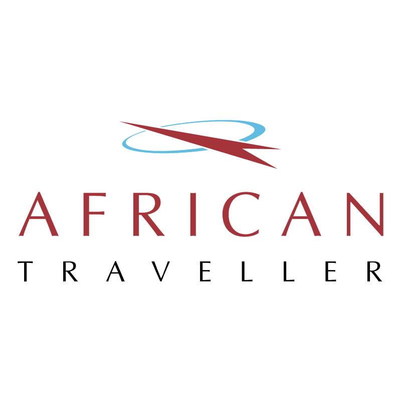 African Traveller vector