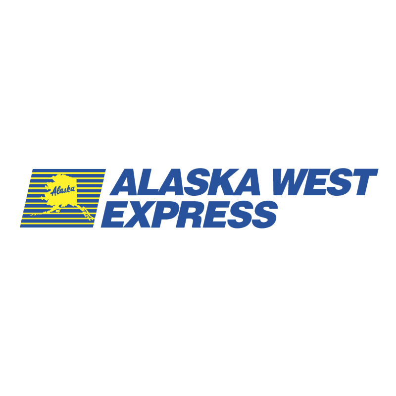 Alaska West Express vector